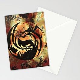Yin and Yang Dragons Artwork Stationery Cards