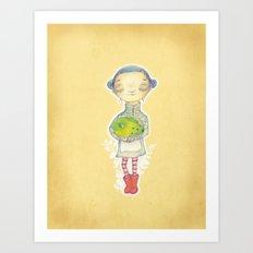 Magic Frabbit Art Print
