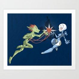 Odd Love Art Print