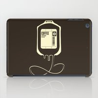 coffee iPad Cases featuring Coffee Transfusion by Tobe Fonseca