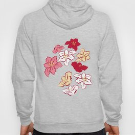 Poinsettia - 4 colors Hoody