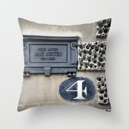 Following Jane Throw Pillow