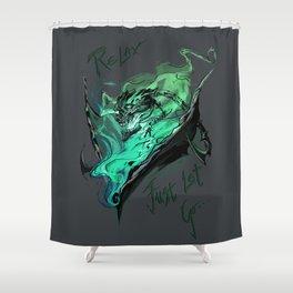 League of Legends- Thresh fanart Shower Curtain