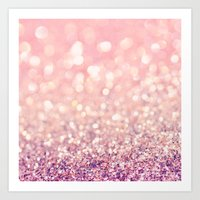 blush Art Prints featuring Blush by Lisa Argyropoulos