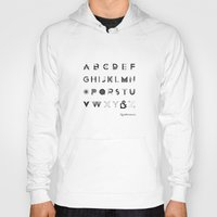 font Hoodies featuring Modernissimo Font by Resistenza