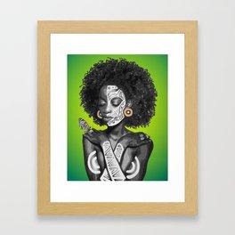 Nahla Framed Art Print