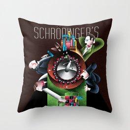Erwin Schrödinger Throw Pillow