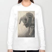 taurus Long Sleeve T-shirts featuring Taurus by Jerry Watkins