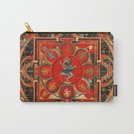 Buddhist Mandala Hevajra Nairatmya Tantra Carry-All Pouch
