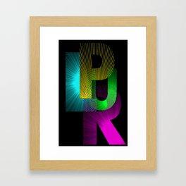 Plur Framed Art Print