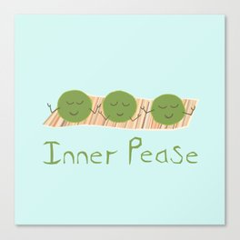 Inner Pease Canvas Print