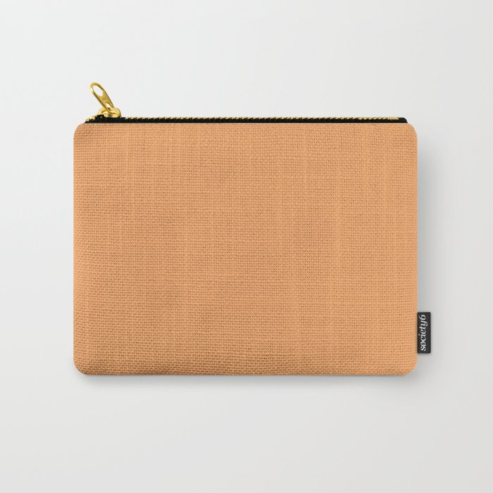 Sandy Orange Carry-All Pouch