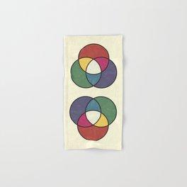 Matthew Luckiesh: The Additive Method of Mixing Colors (1921), vintage re-make Hand & Bath Towel