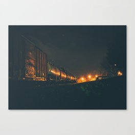 Timing, Distance Canvas Print