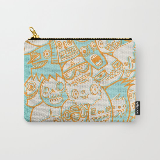 Faces II Carry-All Pouch