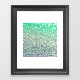 Seafoam Sensations Framed Art Print