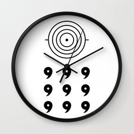 Six Paths Wall Clock