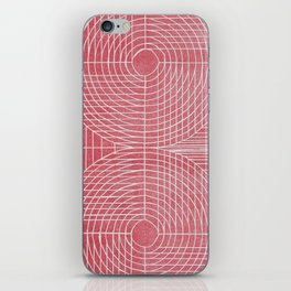 Robotic Boobs Red iPhone Skin