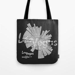 Las Vegas Map Tote Bag