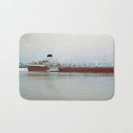 Roger Blough and Ojibway Bath Mat