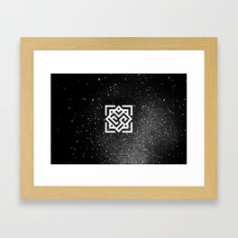 The Sound of the Universe Framed Art Print