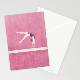 SUMMER GAMES / artistic gymnastics Stationery Cards