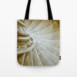Sand stone spiral staircase 17 Tote Bag