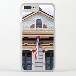 New Orleans American Creole Cottage Clear iPhone Case