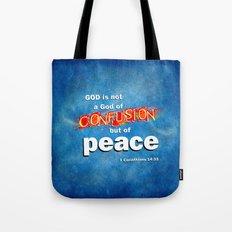 No Confusion Tote Bag