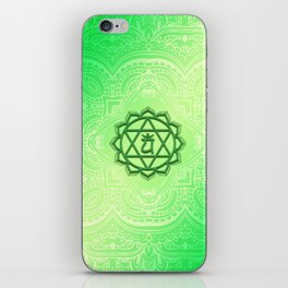 Heart Chakra by Golden Ascension iPhone Skin
