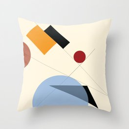 Bauhaus Throw Pillow