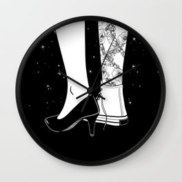 I'm a good woman and a bad girl Wall Clock