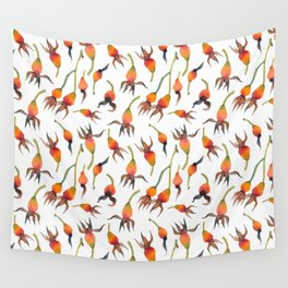 Rose Hips Wall Tapestry
