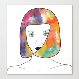 face I Canvas Print
