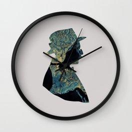 Fernando Pessoa & Lisbon Wall Clock