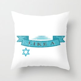 Party Like A Lox Star Jew And Joker Gift Throw Pillow