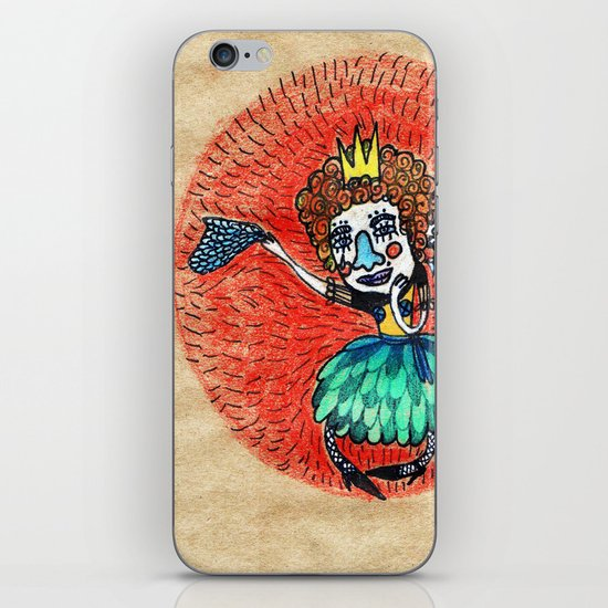 Ugly princess is looking for love iPhone & iPod Skin
