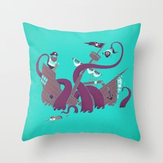 Phil McKraken Throw Pillow