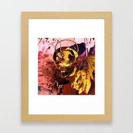 Wine glass Framed Art Print