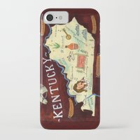 kentucky iPhone & iPod Cases featuring Kentucky by Christiane Engel