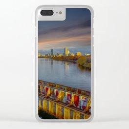Graffiti bridge Clear iPhone Case