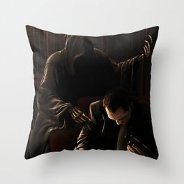 The Adviser Throw Pillow