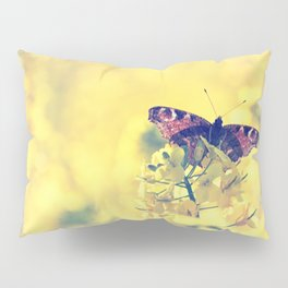 Sunshine and Butterflies Pillow Sham