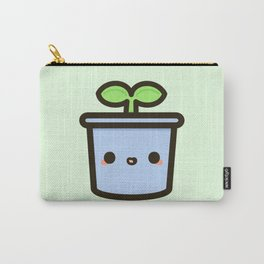 Cute sprout in pot Carry-All Pouch