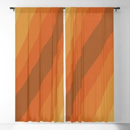 Retro Sunlight Blackout Curtain
