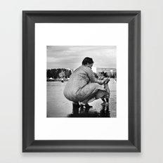 Confiance Framed Art Print
