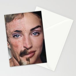 Personality Crisis  - Vintage Collage Stationery Cards