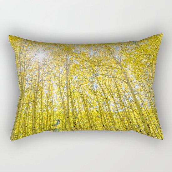 Nevermind The Trees Rectangular Pillow