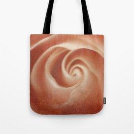 Pink Swirl - Living Coral - JUSTART (c) Tote Bag