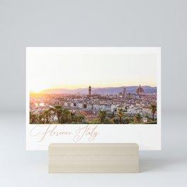 Florence. Italy. Mini Art Print